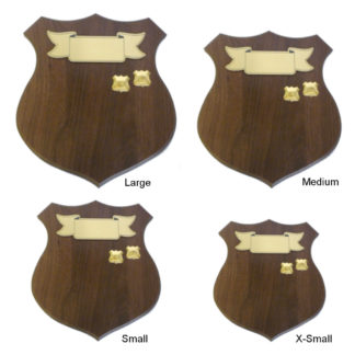 Veneer Woodgrain Shield