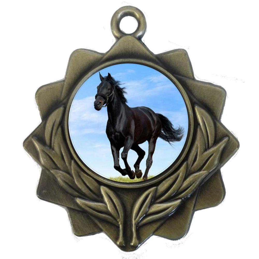25mm Insert Equestrian Medal