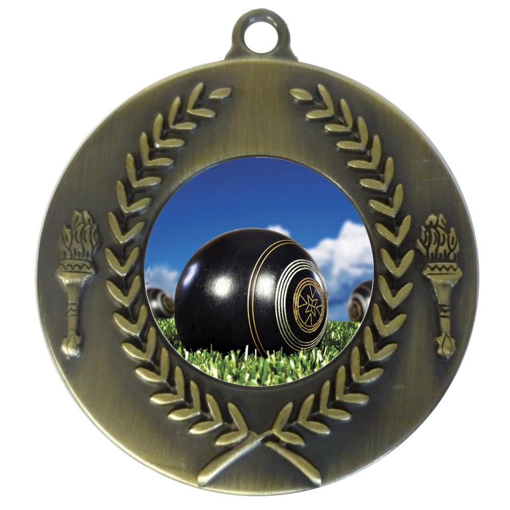 25mm Insert Lawn Bowls Medal