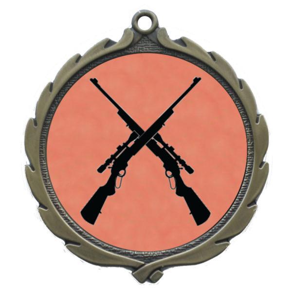 50mm Insert Shooting Medal