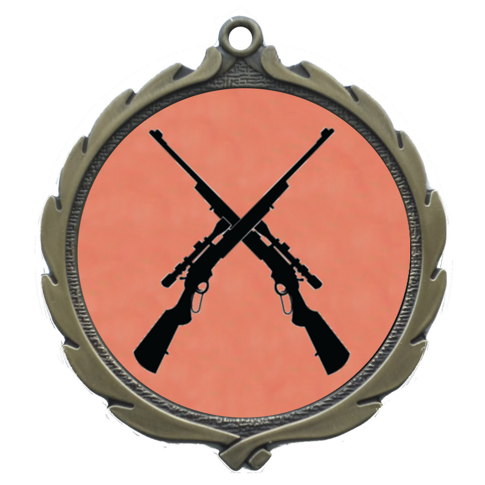 50mm Insert Shooting Medal