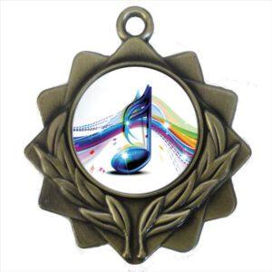 25mm Insert Music Medal