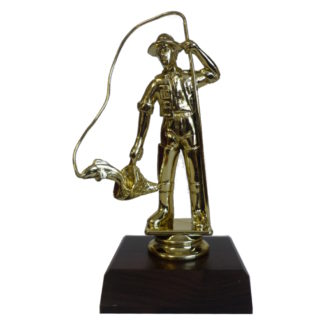 Fisherman Figurine