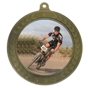50mm Insert Mountain Biking Medal