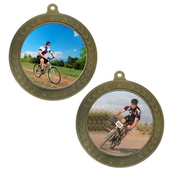 50mm Insert Mountain Biking Medal