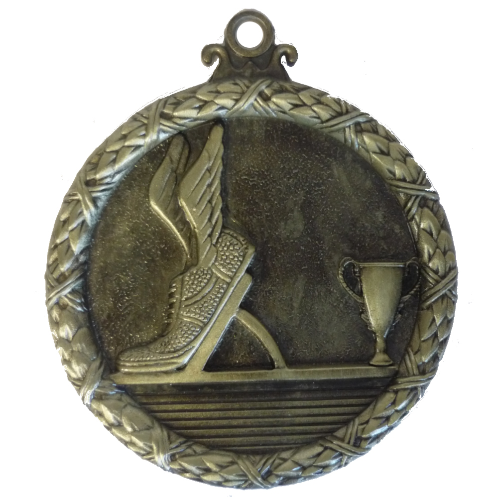 Gold Wreath Athletics Medal