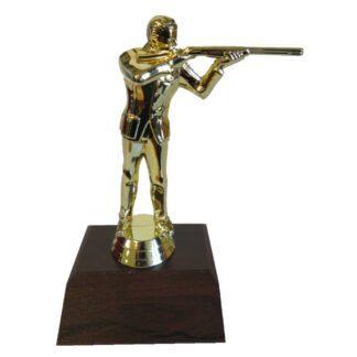 Trapshooter Male Figurine