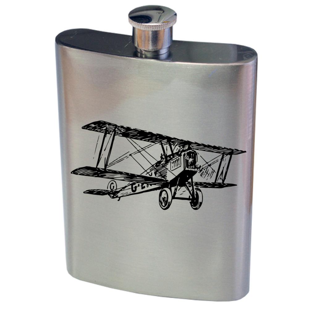 Biplane Hip Flask