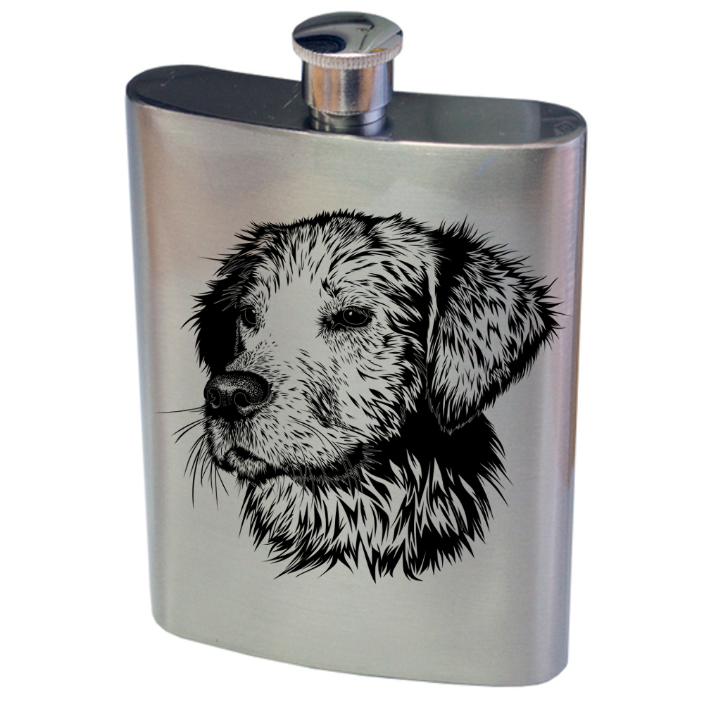 Dog Hip Flask