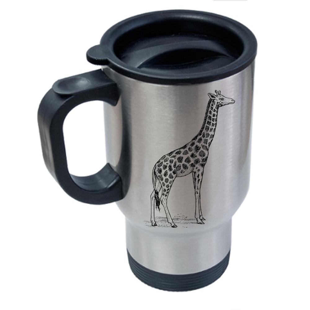 Giraffe Travel Mug - Award Engravers And Framers - NZ