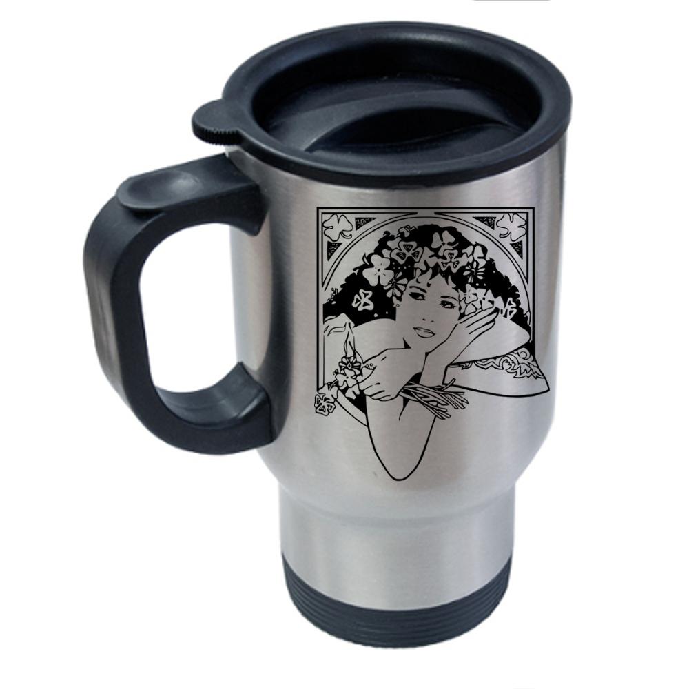 Pretty Lady Travel Mug