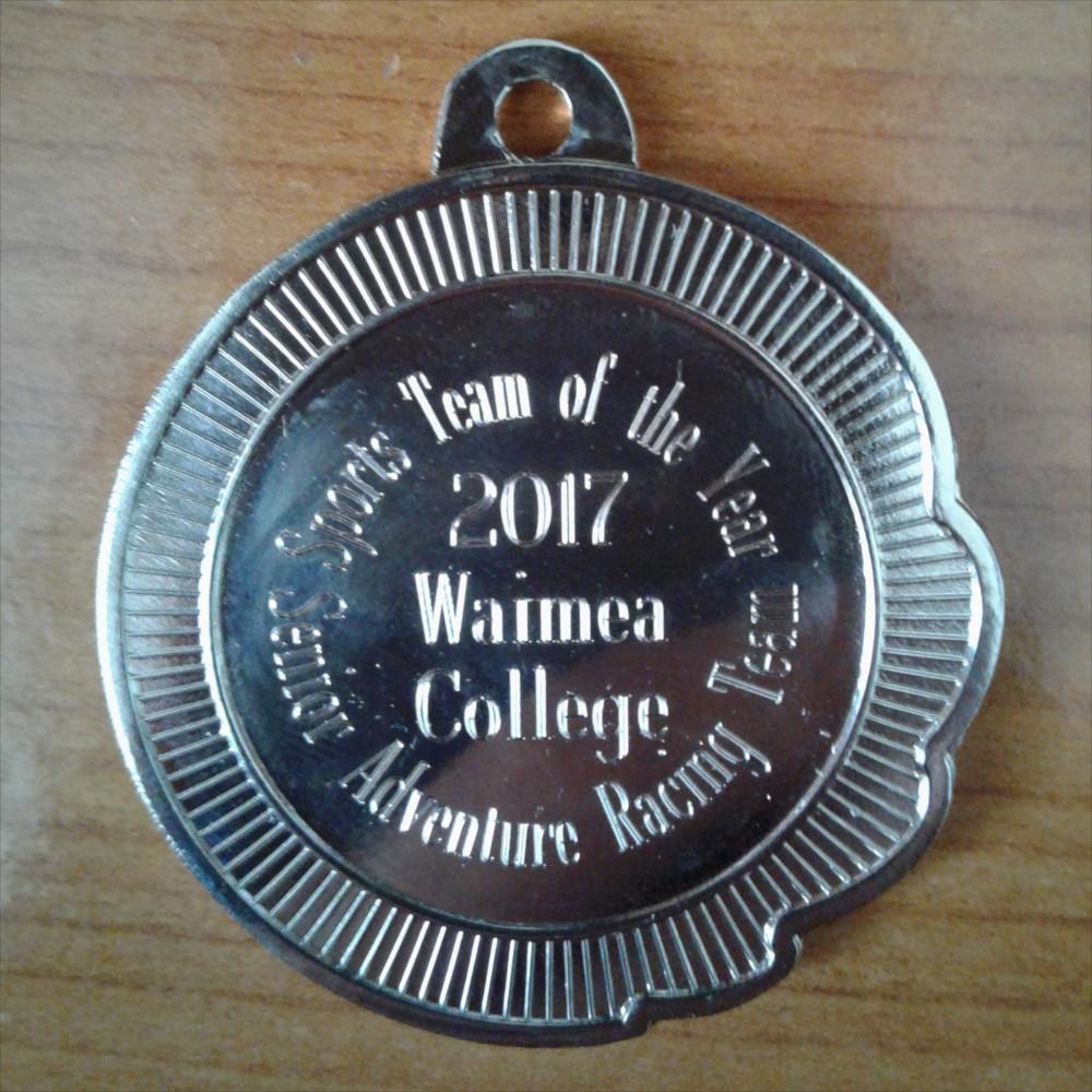 Engraved Medal