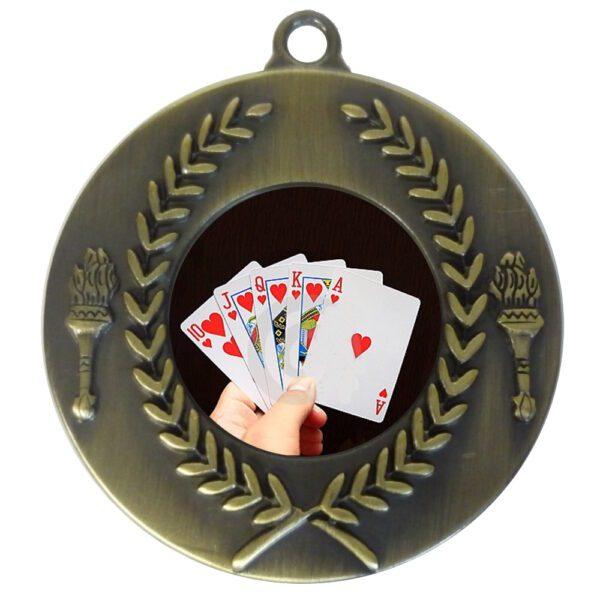 25mm Insert Cards Medal