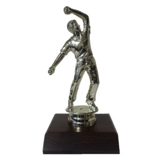 Cricket Bowler Figurine