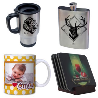 Travel Mugs & Drinkware