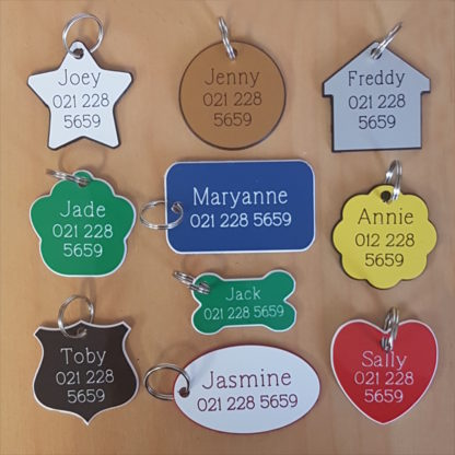 Engraved Plastic Name Tags