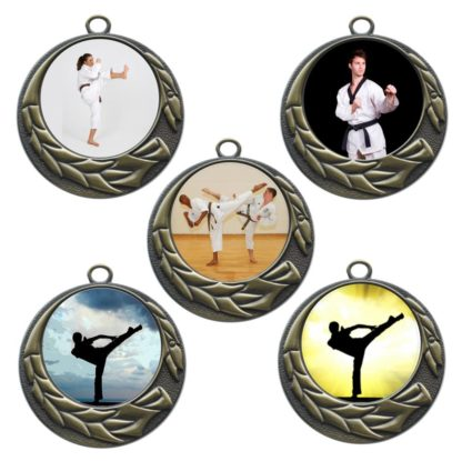 50mm Insert Karate Medals
