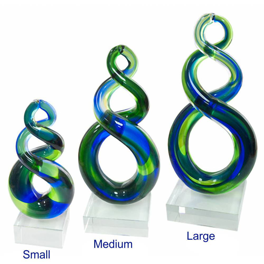 Double Twist Crystal Awards