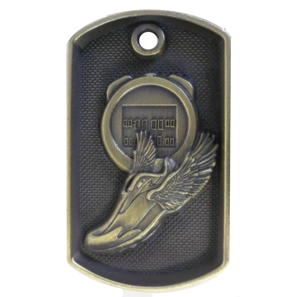 Dog Tag Athletics Medal