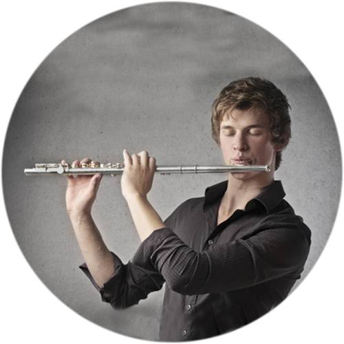 Flute Player Male