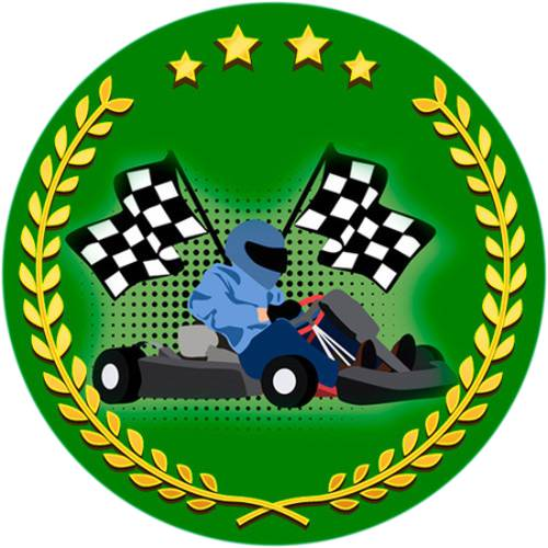 Go kart & Flags