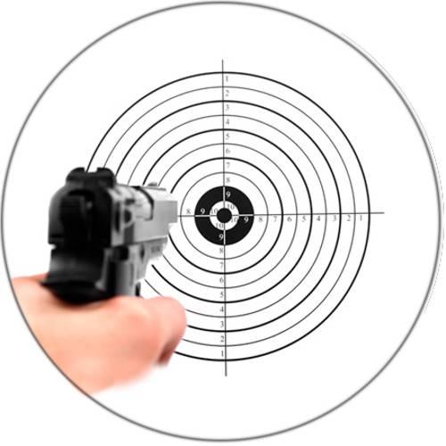 Pistol & Target
