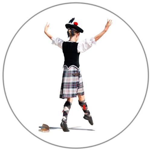 Scottish Dancing Female