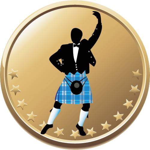 Scottish Dancing Male