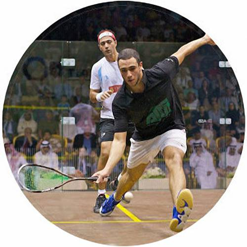 Squash Players Male