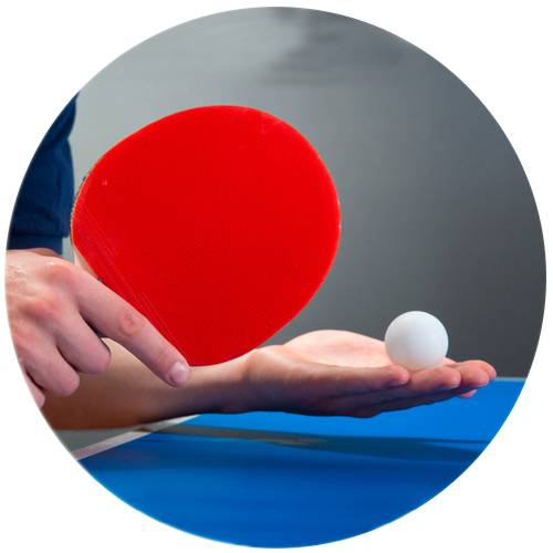 Table Tennis Serve