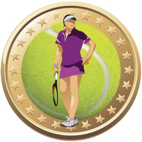 Tennis Gold Stars Female