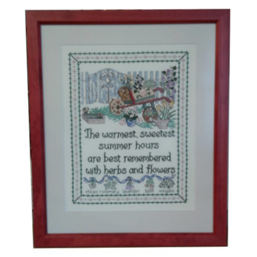 Framed Needlepoint