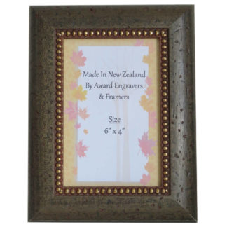 "6"" x 4"" Photo Frame - Rustic-Taupe"