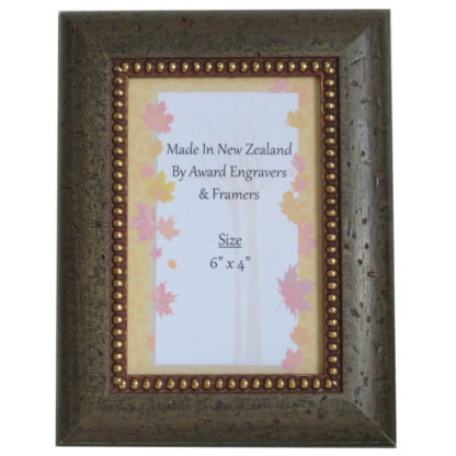 Rustic Taupe Photo Frame
