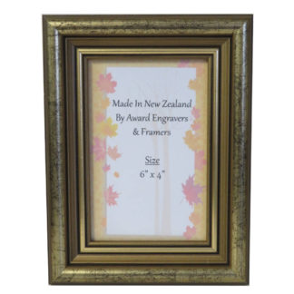 6 x 4 Photo Frame - Antique Gold