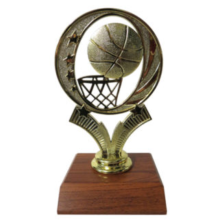 Basketball Relief Figurine