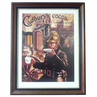 Framed Cadbury Fireman