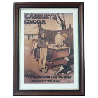 Framed Cadbury Cocoa Server