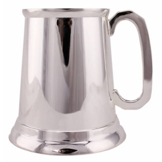Silver Plated Tankard - 02