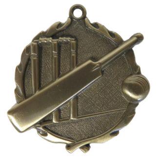 3D Cricket Medal