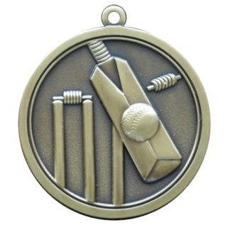 Hi-Relief Cricket Medal