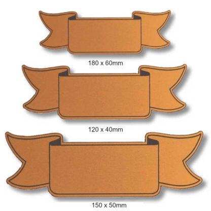 Plastic Shield Ribbon - 01