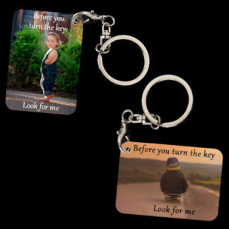 Child Safety Message Key-Chain