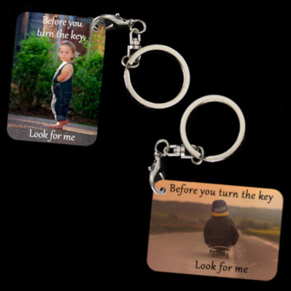 Child Safety Message Key-Chain