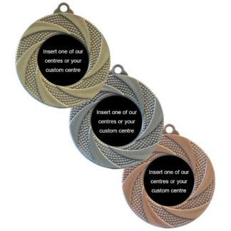 Antique Swirl Insert Medals