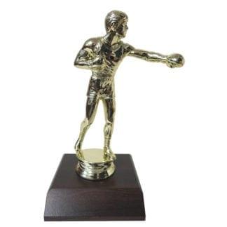 Boxing Man Figurine
