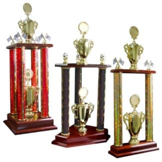 Tiered Poster Trophies