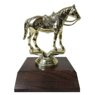 Western Horse Figurine