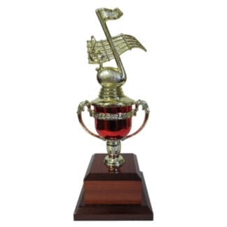 Music Note Trophy Cup