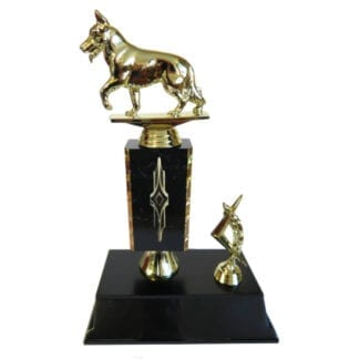 Alsatian Dog Trophy